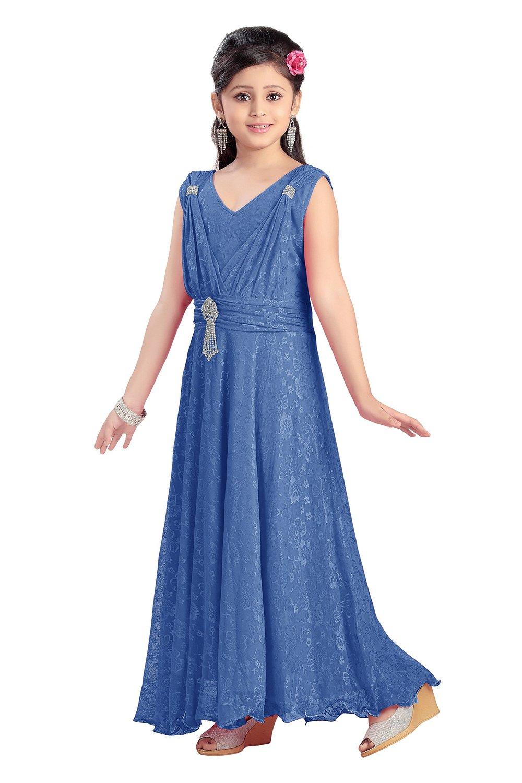 Fashionable Girls\' Party wear Gown – befashionablebestylish